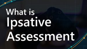Poster with the word ''What is Ipsative Assessment''